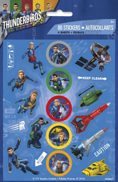 Thunderbirds Are Go Sticker Sheets (4)